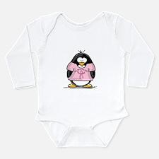 BC Surivor Penguin Long Sleeve Infant Bodysuit