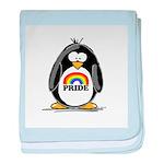 GLBT Penguin baby blanket