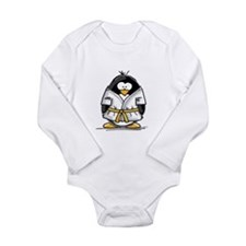 Martial Arts gold belt pengui Long Sleeve Infant B