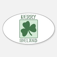 Kerry, Ireland Oval Decal