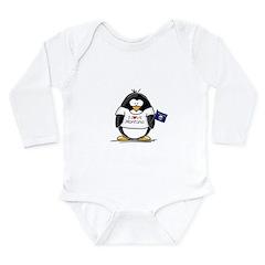 Montana Penguin Long Sleeve Infant Bodysuit