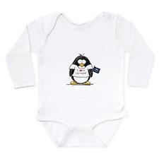 Vermont Penguin Long Sleeve Infant Bodysuit