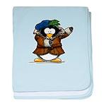 Shakespeare Penguin baby blanket