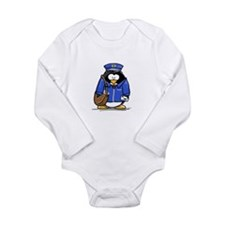 Funny Postal worker Long Sleeve Infant Bodysuit