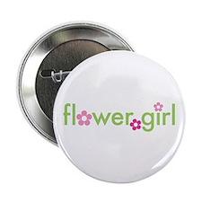 """Flower Girl 2.25"""" Button"""
