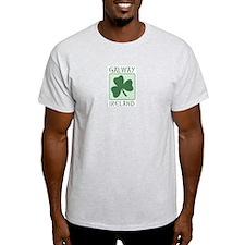 Galway, Ireland Ash Grey T-Shirt