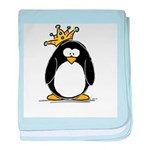 King penguin baby blanket