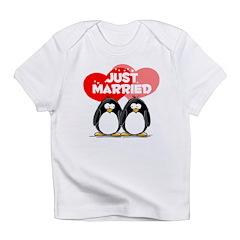 Just Married Penguins Infant T-Shirt