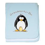 Grandma to Be Penguin baby blanket