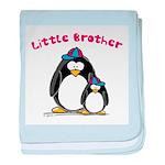 Little Brother Penguin baby blanket