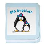 Big Brother Penguin baby blanket