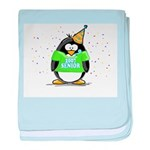 Senior 2007 Party Penguin baby blanket