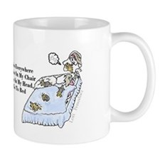 Yorkies Yorkies Everywhere Small Mug