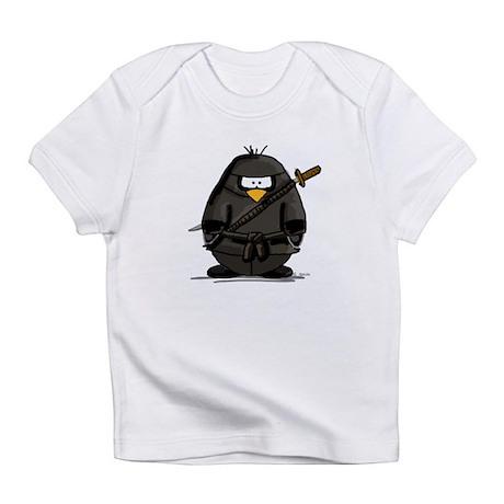 Martial Arts ninja penguin Infant T-Shirt