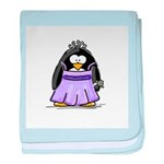 Prom penguin baby blanket
