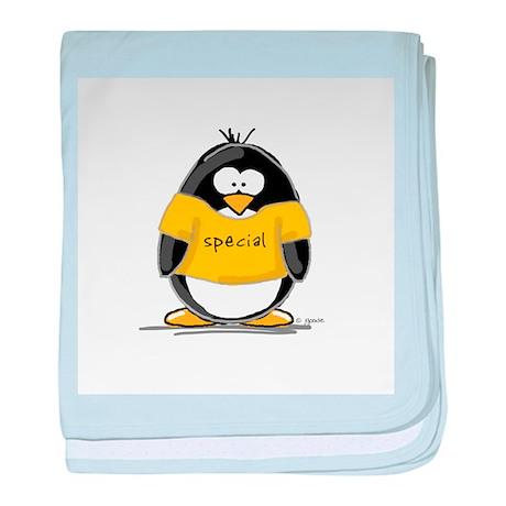 Special penguin baby blanket