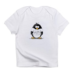 I Love Penguins penguin Infant T-Shirt