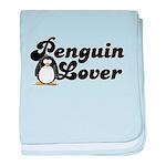 Penguin Lover baby blanket