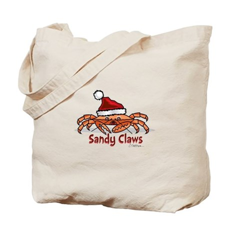 Sandy Claus Tote Bag