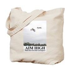 Cute Aim high Tote Bag