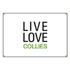 Live Love Collies Banner