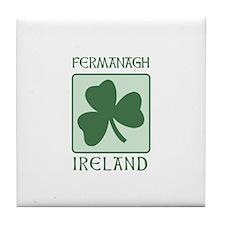 Fermanagh, Ireland Tile Coaster