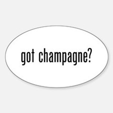 Got Champagne Decal