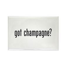 Got Champagne Rectangle Magnet (100 pack)