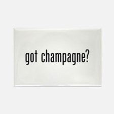 Got Champagne Rectangle Magnet