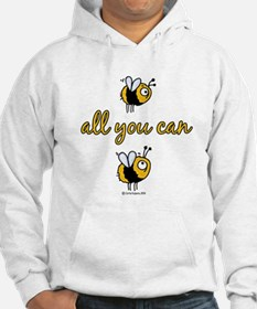 B all you can B Hoodie