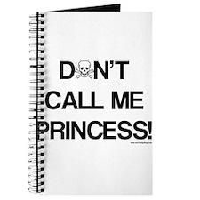 Don't Call Me Princess! Journal