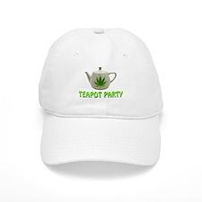 Teapot Party Baseball Cap