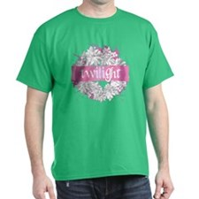 Twilight Christmas Pink by Twibaby T-Shirt