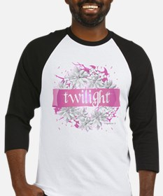 Twilight Christmas Pink by Twibaby Baseball Jersey