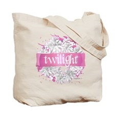Twilight Christmas Pink by Twibaby Tote Bag