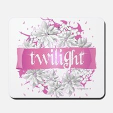 Twilight Christmas Pink by Twibaby Mousepad