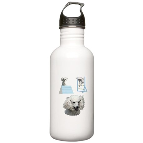 Run Poodle Run Stainless Water Bottle 1.0L
