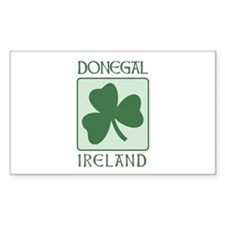 Donegal, Ireland Rectangle Decal