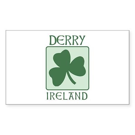 Derry, Ireland Rectangle Sticker