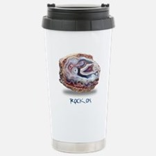 Rock On Stainless Steel Travel Mug
