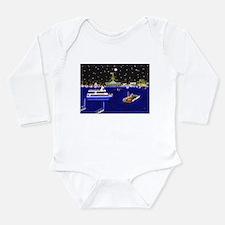 Cute Balboa Long Sleeve Infant Bodysuit