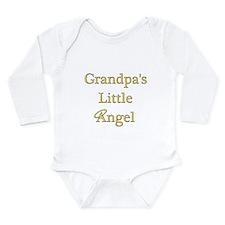 Grandpa's Angel Long Sleeve Infant Bodysuit