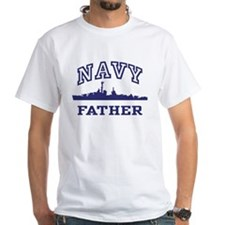 Navy Father Shirt