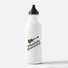 Ukulele Bootcamp Water Bottle