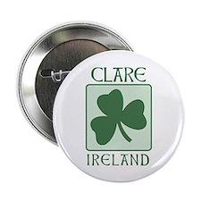 Clare, Ireland Button