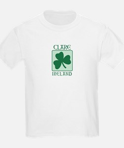 Clare, Ireland Kids T-Shirt