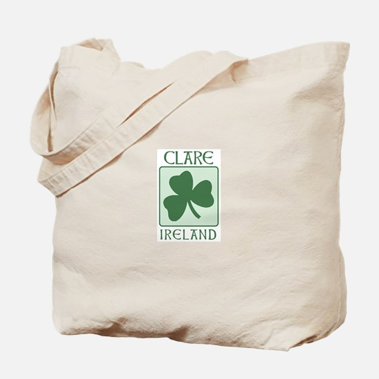 Clare, Ireland Tote Bag