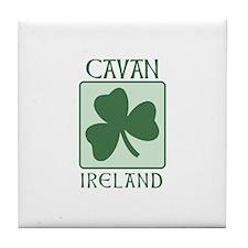 Cavan, Ireland Tile Coaster
