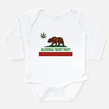 California Teapot Party Long Sleeve Infant Bodysui