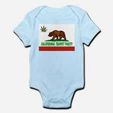 California Teapot Party Infant Bodysuit